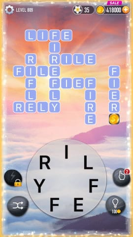 Word Crossy Level 809 Answers