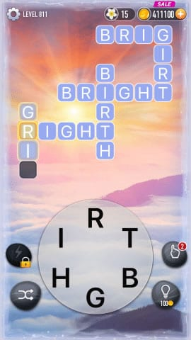 Word Crossy Level 811 Answers