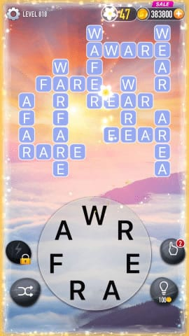Word Crossy Level 818 Answers