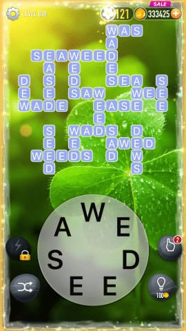 Word Crossy Level 830 Answers