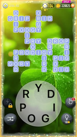Word Crossy Level 833 Answers