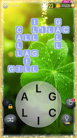 Word Crossy Level 835 Answers