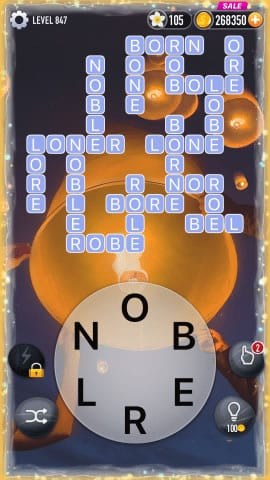 Word Crossy Level 847 Answers