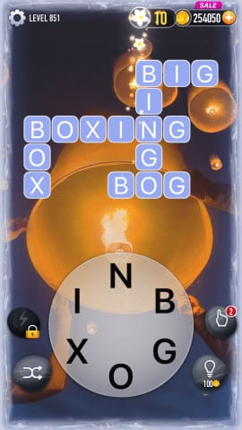 Word Crossy Level 851 Answers