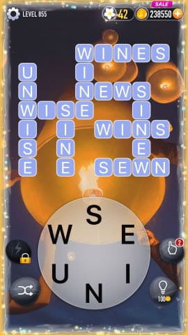 Word Crossy Level 855 Answers