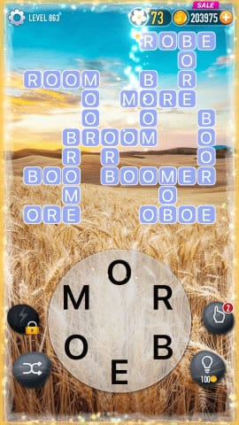 Word Crossy Level 863 Answers