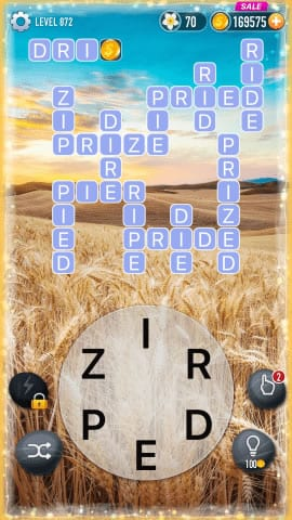 Word Crossy Level 872 Answers