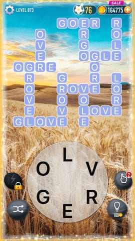 Word Crossy Level 873 Answers