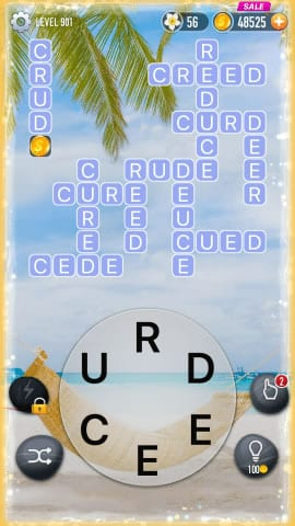 Word Crossy Level 901 Answers