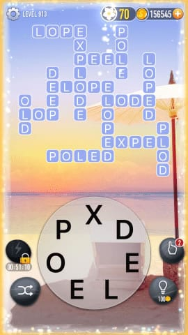 Word Crossy Level 913 Answers