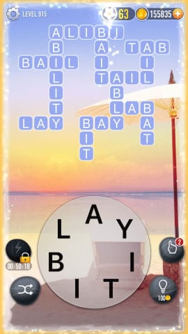 Word Crossy Level 915 Answers