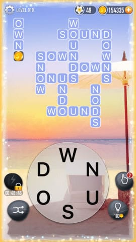 Word Crossy Level 919 Answers