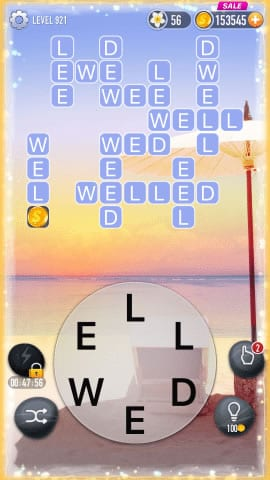 Word Crossy Level 921 Answers