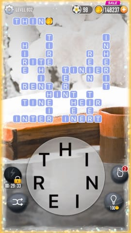 Word Crossy Level 932 Answers