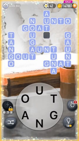 Word Crossy Level 933 Answers