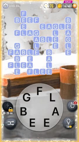 Word Crossy Level 934 Answers