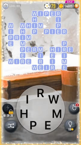 Word Crossy Level 935 Answers