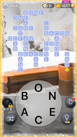 Word Crossy Level 937 Answers