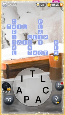 Word Crossy Level 938 Answers