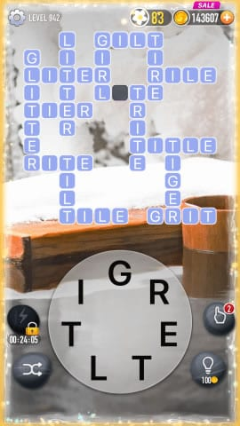 Word Crossy Level 942 Answers