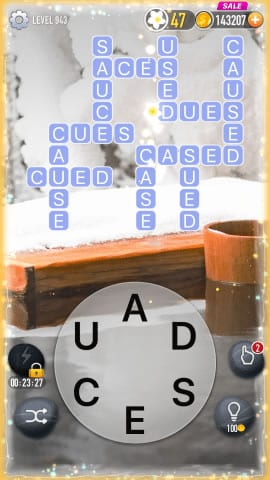 Word Crossy Level 943 Answers