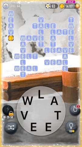 Word Crossy Level 948 Answers