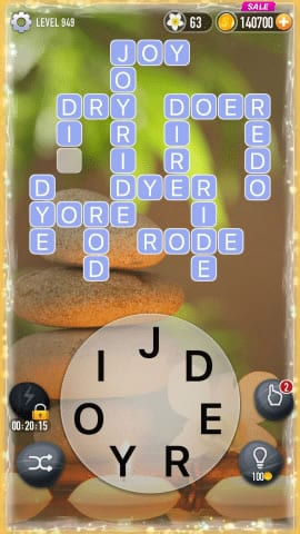 Word Crossy Level 949 Answers