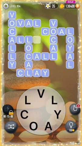 Word Crossy Level 954 Answers