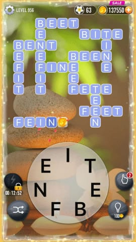 Word Crossy Level 956 Answers