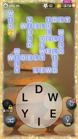 Word Crossy Level 959 Answers