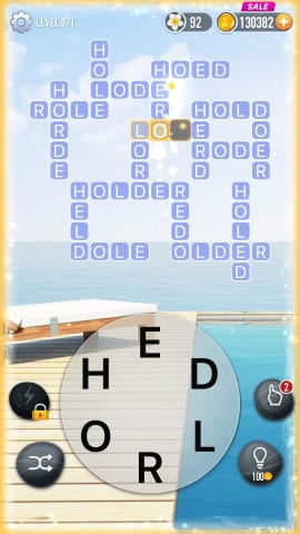 Word Crossy Level 971 Answers