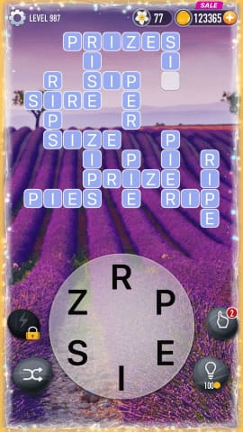 Word Crossy Level 987 Answers