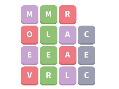 Word Whizzle Daily Puzzle November 6 2018 Reversible Words Answers - racecar, mom, level