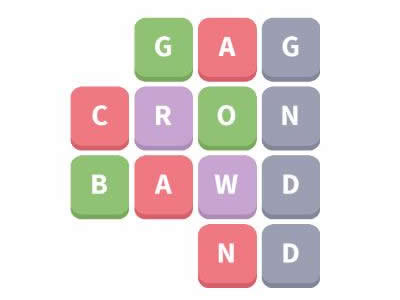 Word Whizzle Daily Puzzle December 26, 2018 Group Answers - band, crowd, gang