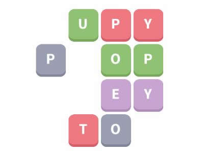 Word Whizzle Daily Puzzle December 29, 2018 Things on a String Answers - puppet, yoyo