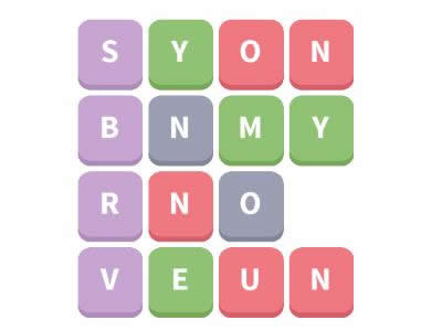 Word Whizzle Daily Puzzle January 16, 2019 Words Answers - synonym, noun, verb